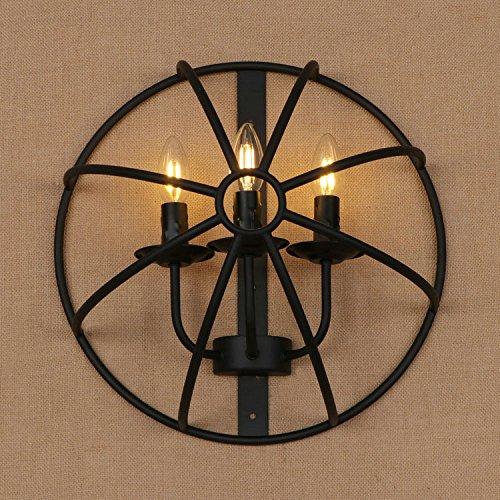 Lifme Antike Europäische Industrie Bügeleisen Kunst Schlafzimmer Wand Lampe