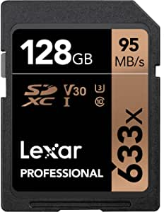Lexar Professional 633x 128gb Sdxc Uhs I Cards Computers Accessories