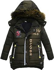 erthome Baby Mantel Kinder Winterjacke Mantel Jacke Warme Kapuze Kinder Kleidung