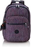 Kipling - Large backpack with laptop protection - CLAS SEOUL  - Navy Blue Blk
