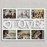 Porte-Photos avec Coeurs Love (6 photos)