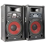 Skytec spa1200r-set Lautsprecher Karaoke