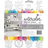 Prima Marketing Malbuch Vol. 2Aquarell eingerichtet, 24Blatt, Acryl, mehrfarbig