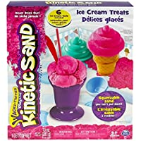 Spin Master 6027986 - Kinetic Sand - Ice Cream Teats Set