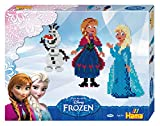 Hama 7946 - Geschenkpackung Frozen, circa 4000 Bügelperlen, 2 Stiftplatten und Zubehör