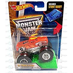 hot wheels monster jam Truck Stunt Ramp El Toro Loco #04 X-Ray Body by Mattel