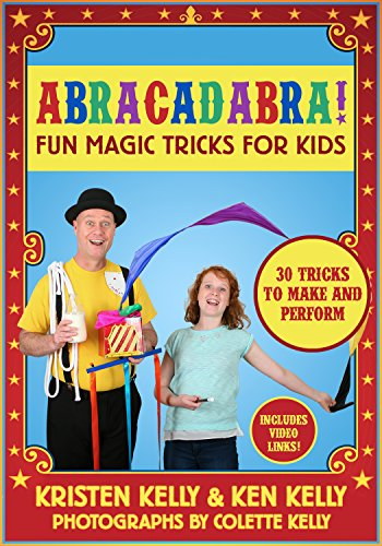 Abracadabra!: Fun Magic Tricks for Kids - 30 tricks to make and perform (includes video links) (Decks Playing Card Fun)