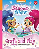 Nickelodeon's Shimmer and Shine: Craft and Play: Includes Character Press-Outs, Stencils, Patterned Paper, and Stickers!