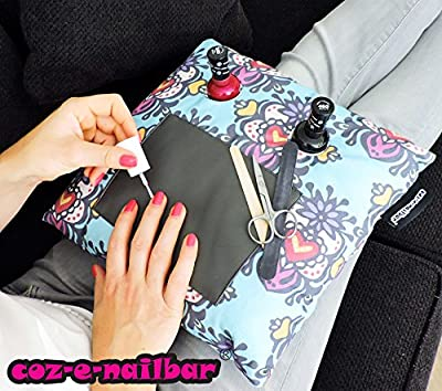 coz-e-nailbar manicure cushion - Popsicle Print