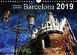 Barcelona (Wandkalender 2019 DIN A4 quer): K?nstlerisch verfremdete Ansichten der Stadt Barcelona (Monatskalender, 14 Seiten )