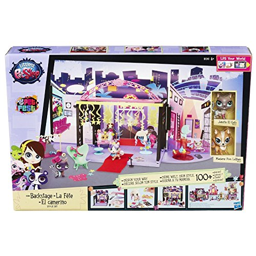 Hasbro B1241EU4 - Littlest Pet Shop Backstage Style Set (Littlest Pet Shop Style Set)