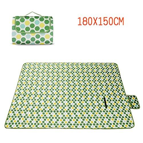 TYJ Picknick-Decken Picknick-Matten Sommer-Oxford-Tuch Feuchtigkeitsfeste Auflage Wasserdichte Frühlings-Tour Teppich Im Freien ( größe : 180*150cm )