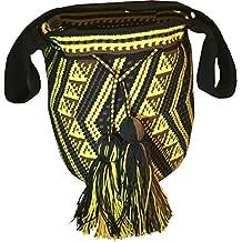 Auténtica mochila wayúu, hecha a mano en la Guajira, Colombia
