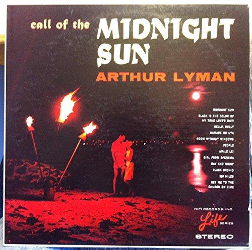ARTHUR LYMAN CALL OF THE MIDNIGHT SUN vinyl record -