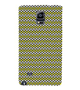 Glow Chevron Arrows 3D Hard Polycarbonate Designer Back Case Cover for Samsung Galaxy Note 4 N910 :: Samsung Galaxy Note 4 Duos N9100