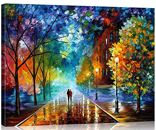 Suntown Pintura números Marco madera 40x50cm Pintura