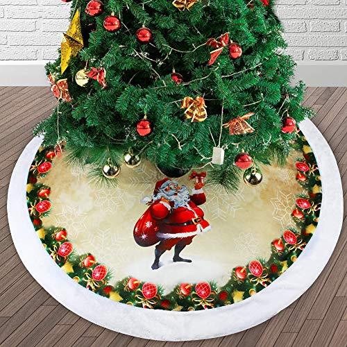GRANDLIN Falda de árbol de Navidad