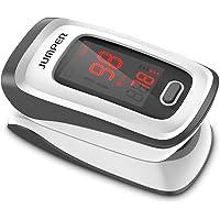 JUMPER Finger Pulsossimetro Meter Pulse Portable - SpO2 (Saturazione di Ossigeno nel Sangue) e Monitor di Frequenza…