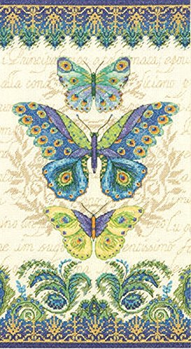 dimensions-gezahlter-kreuzstick-set-peacock-butterflies