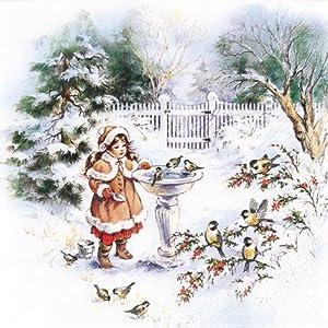20 Servietten Little Sophie – Die kleine Sophie/Weihnachten/Kinder 33x33cm