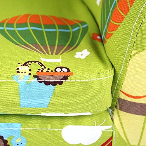 Emall Life Kid's Luxury Armchair Children's Tub Chair Cartoon Sofa Wooden Frame (Balloon)