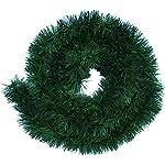 Ghirlanda di erba verde ghirlanda di decorazione di circa 5 m