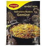 Maggi Asia gebratene Nudeln mit Gemüse, 12er Pack (12 x 124 g Beutel)