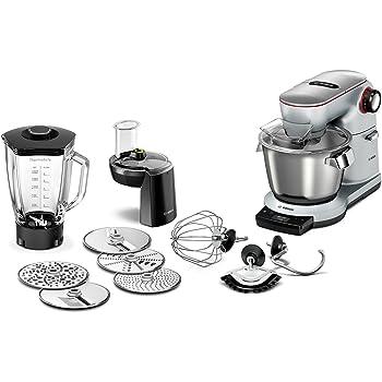 Amazon.de: Bosch MUM9D33S11 OptiMUM Küchenmaschine (1300 W, 3 Profi ...