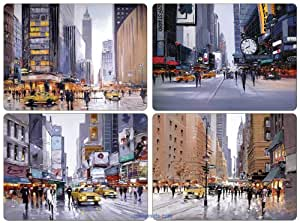 Pimpernel sets de table new york city scapes bo te - Set de table new york ...