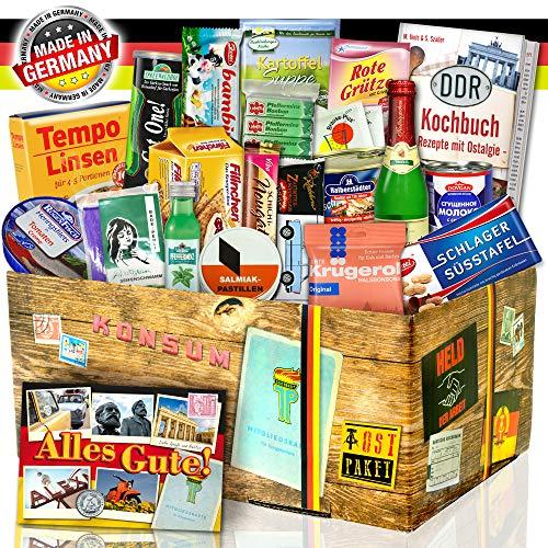 DDR Spezialitäten Geschenkset / Geschenkeset zu Geburtstag für Freund