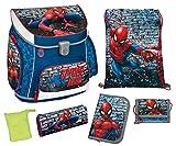 Schulranzen Set Campus UP, Marvel Spider-Man, 6 teilig