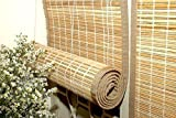 Tclpvc Economy 3/7 feet Bamboo Chick Window Closer - Curtains For Balcony - Windows - Outdoors - Door - Kitchen - Home - Office - Hotel - Resorts – Blinds - Shades – Screens - Patio Umbrellas - Canopies - Shade - Sunscreen Fabric - Screens - Protection - Balcony Privacy - Protective Screens - window blind curtain – Verandas - Public Areas - Door Curtain - Fly Screen - Divider Room US - 1001