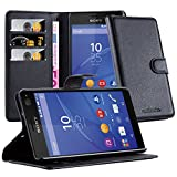 Cadorabo DE-103215 Sony Xperia C4 Case with Card Slot and