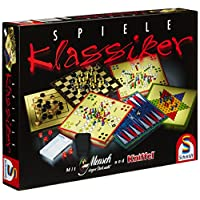 Schmidt-Spiele-49120-Klassiker-Spielesammlung Schmidt Spiele 49120 Spiele Klassiker, Spielesammlung, bunt -