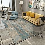 BAGEHUA Tinte maßgeschneiderte Abstrakte Kunst Wohnzimmer Couchtisch Sofa Teppich Schlafzimmer Studie Teppich, 160cmx230cm, K-71