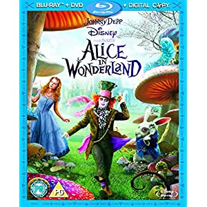 Alice in Wonderland (Blu-ray + DVD + Digital Copy)