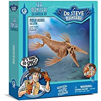 Geoworld - Sea monsters excavation kit, Mosasaurus figura (DeQUBE Trading CL1684K)
