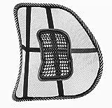Soutien lombaire Coussin de dossier de chaise–Bas du dos en maille filet pour une meilleure position d'assise
