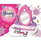 VSHINE Beauty Set , Princess Mirror Dressing Table with Accessories for Girls