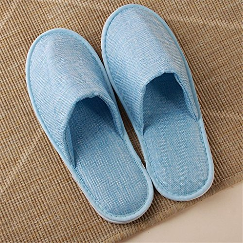 5 paia hotel non antiscivolo/pantofole per il viaggio/casa, per la palestra dell'hotel spa ospitalità hotel sauna del piede sauna sauna pantofole a gettare, 003