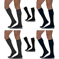 Pierre Cardin 6 calzini lunghi caldo cotone elasticizzato