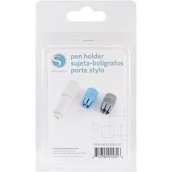 Silhouette America PEN-Holder-3T - Porta penne con 3 cappucci in plastica