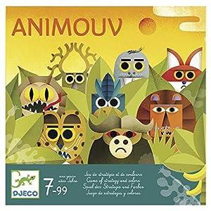 DJECO- Juegos de acción y reflejosJuegos educativosDJECOJuego Animouv, Multicolor (15)