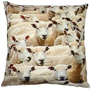 gefüllt Evans Lichfield Schaf in Großbritannien Kissen 43,2x 43,2cm–43x 43cm