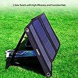 AUKEY Solar Ladegerät 21W mit 2 USB Anschlüsse