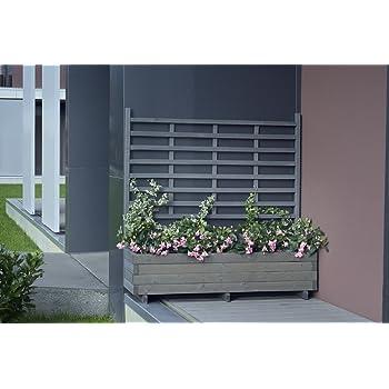 Hochbeet Vertikalbeet vintage-grau 39,5x65,5x133cm Pflanzkasten