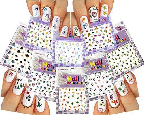 mundo-del-mar-pegatinas-del-arte-del-clavo-3d-calcomanias-juego-de-8-sea-world-nail-art-3d-stickers-