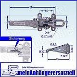 Exzenterverschluss Bordwandverschluss Spannverschluss + Gegenhalter