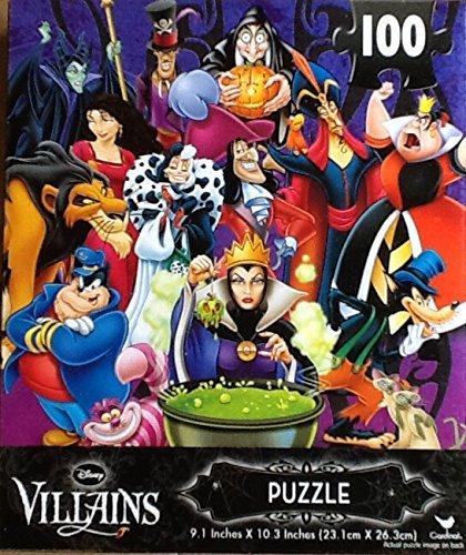 Disney Villains Jigsaw Puzzle 100 Pieces by Disney