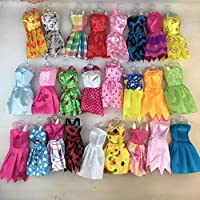 Fat-catz-copy-catz - 10x Barbie Doll Dresses Clothes Bundle UK SELLER (Random Selection)